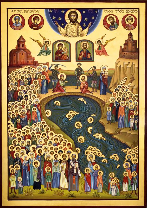 ასი ათასი მოწამის ხატი