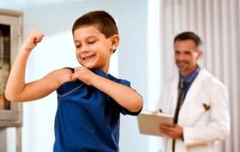 ბავშვი და ექიმი