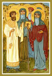 ღირსნი მამანი ევაგრე, ელია დიაკონი და სხვანი