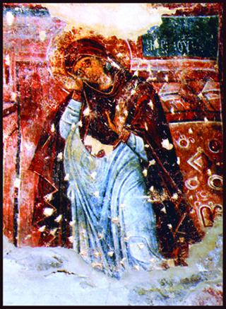 დირბის ღვთისმშობლის ფრესკა