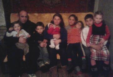 ეკატერინე გაგნიძის ოჯახი