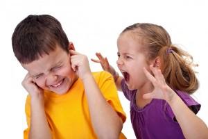 გაბრაზებული ბავშვები