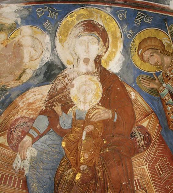 ნეკრესის მონასტერი - ღმრთისმშობლის ტაძარი