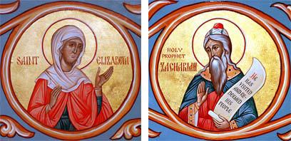 წინასწარმეტყველი ზაქარია და მართალი ელისაბედი